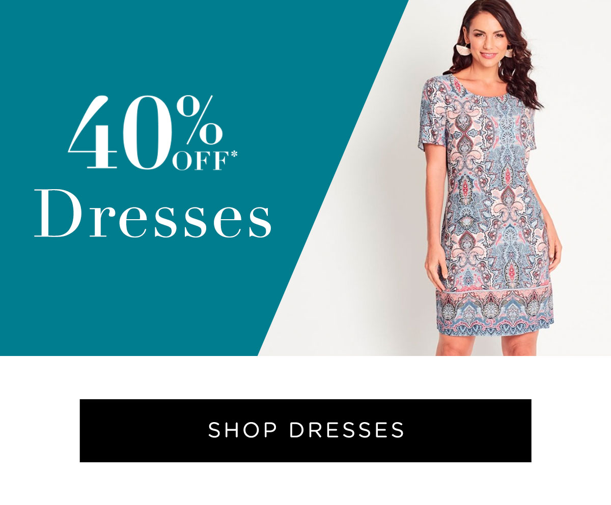 40% Off All Full Price Styles | Shop Dresses
