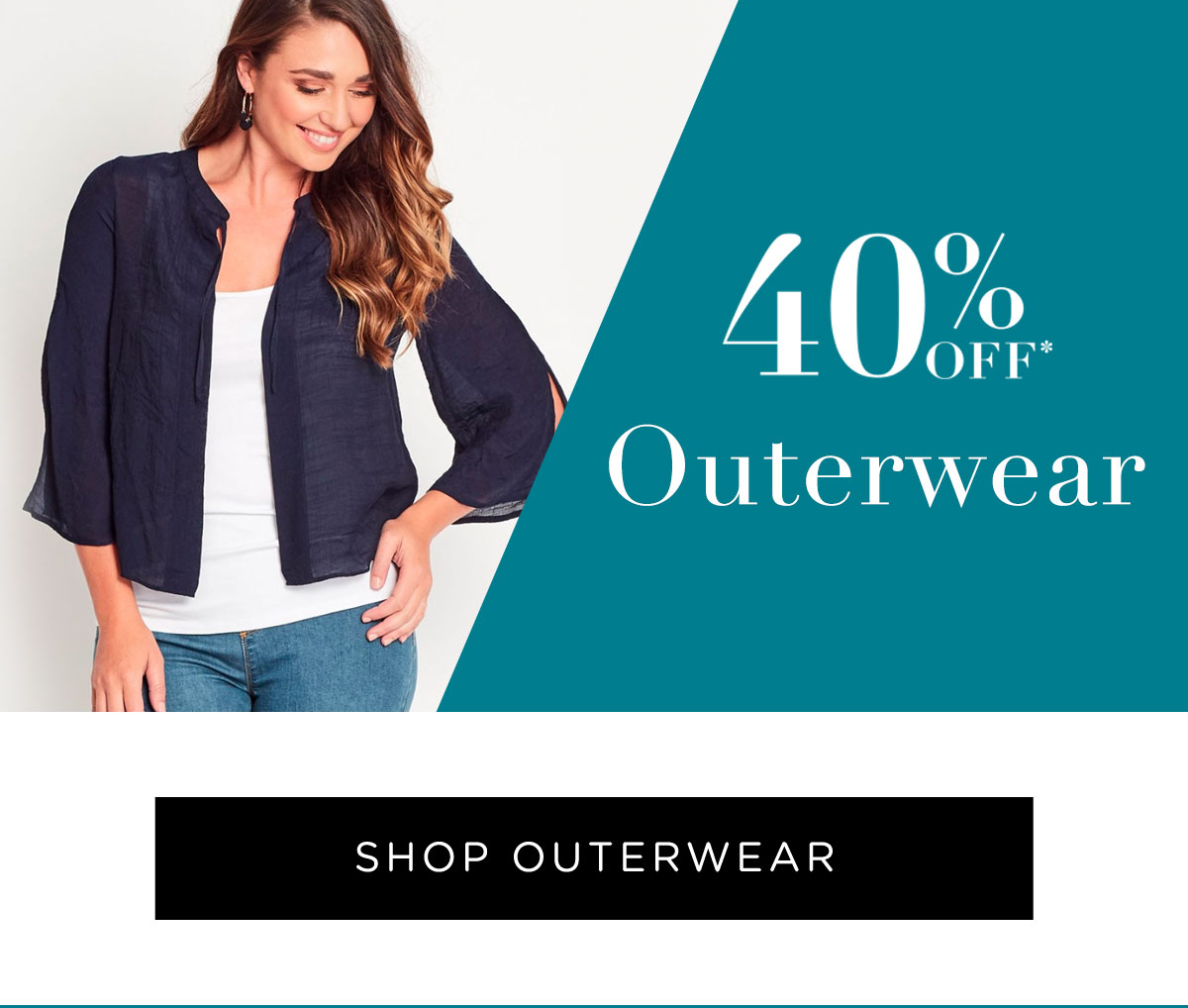 40% Off All Full Price Styles | Shop Outerwear